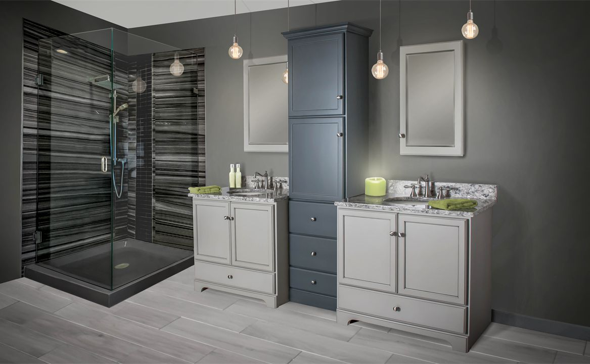Woodpro cabinetry for Bathroom cabinets yorkshire