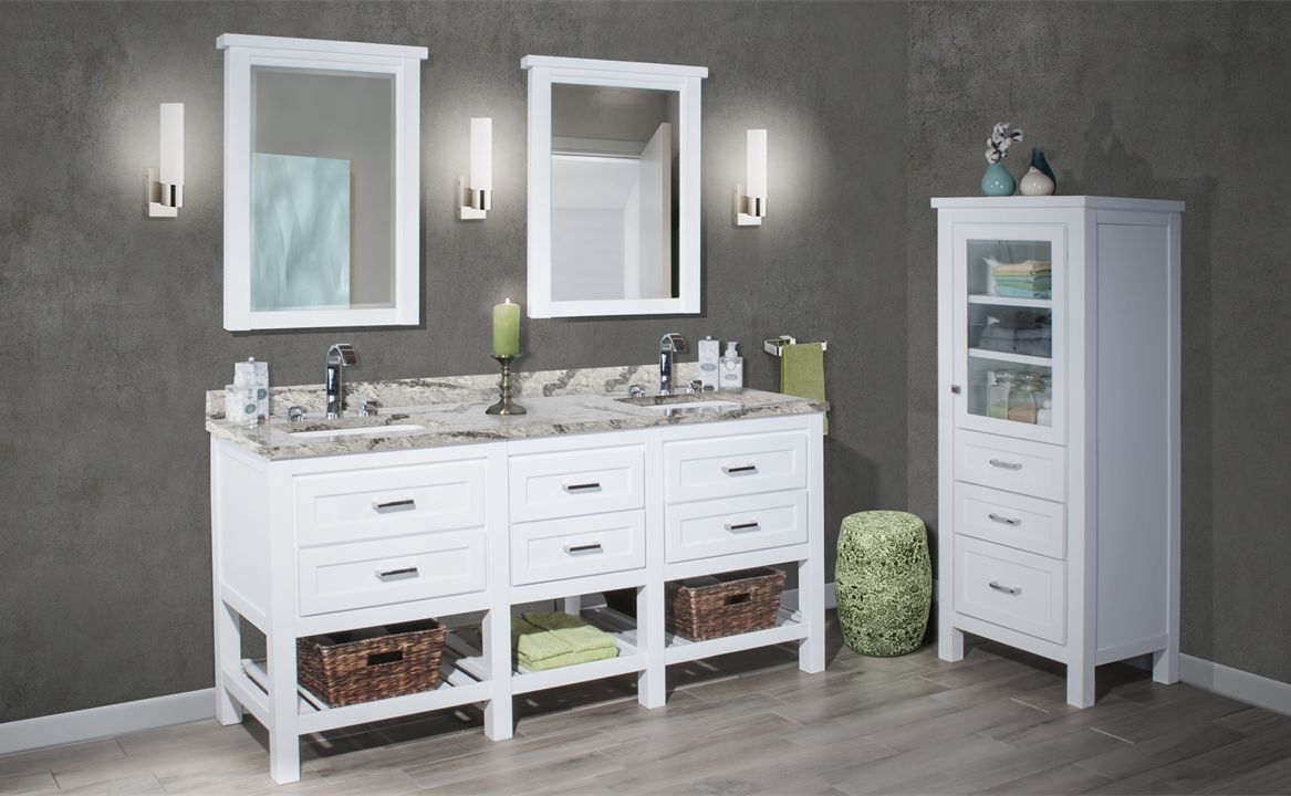 Why Settle For Making Do U2013 Get What You Want With Woodpro Bath Cabinetry ...