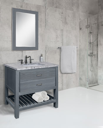 High End Bathroom Cabinets Customized For Your Style, Space And Storage  Needs.