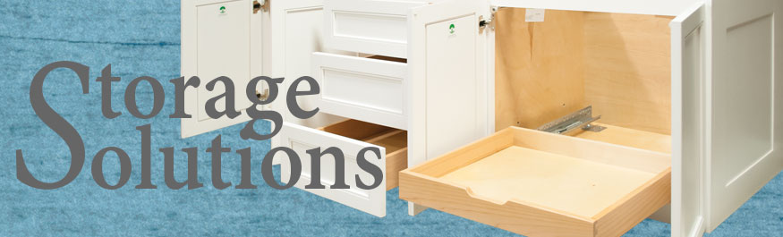 Storage Solutions - Vanities